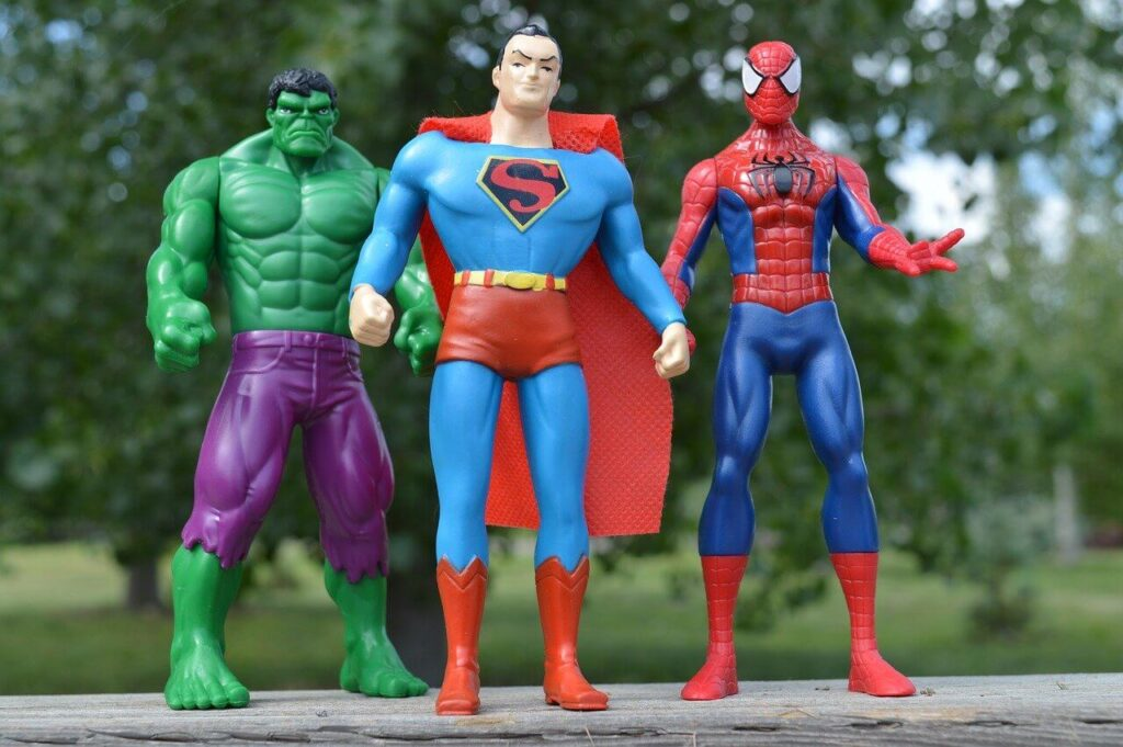 superheroes Action & Toy Figures