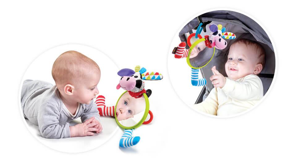 Toddler safe mirror